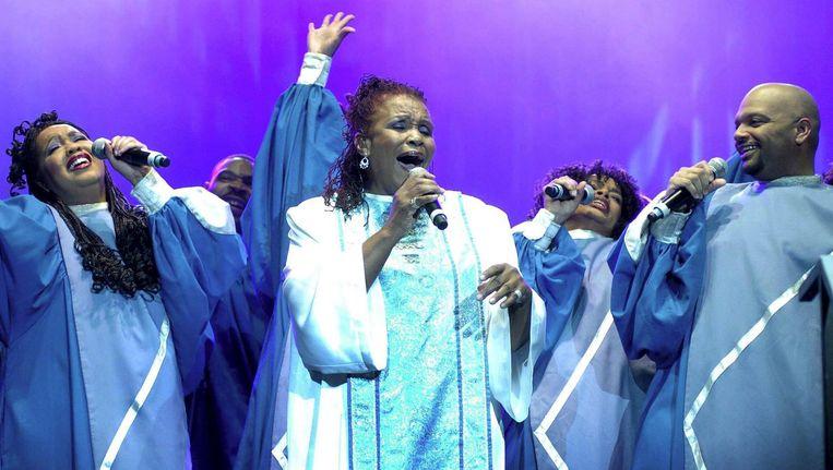 Met het festival wordt 50 jaar gospel in Nederland gevierd. Beeld anp