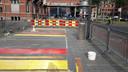 Aanleg regenboogzebrapad Den Bosch