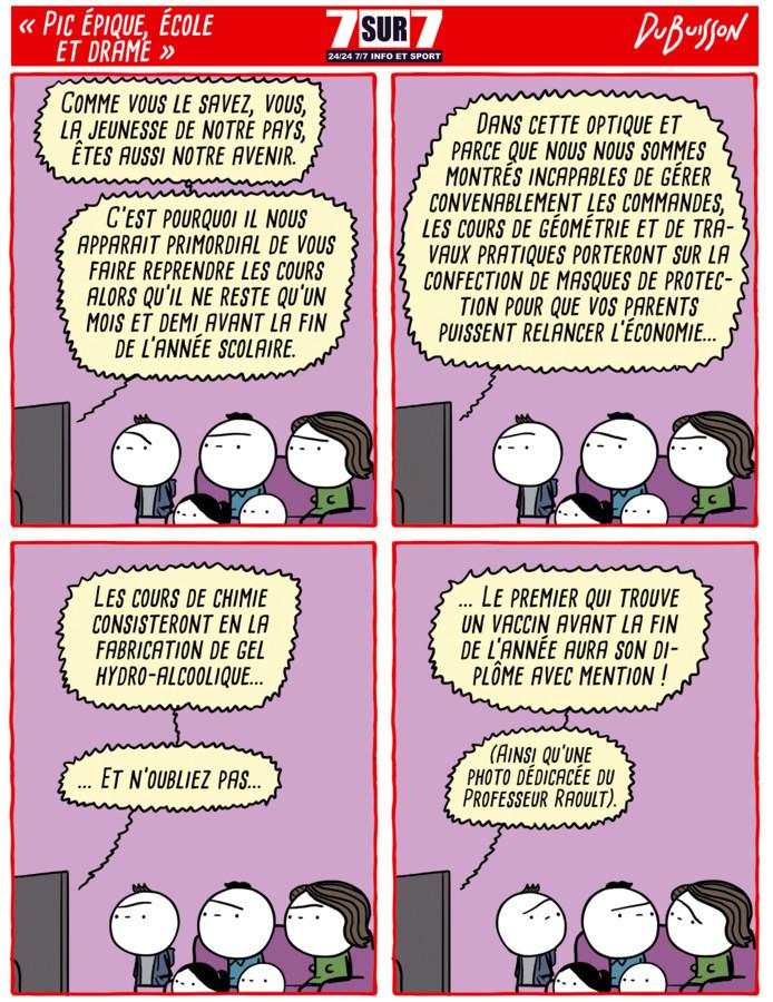 """""""Pic épique, école et drame""""."""