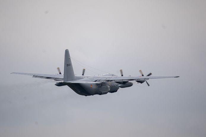 Het Belgische leger stuurde twee C-130-vliegtuigen naar Afghanistan.