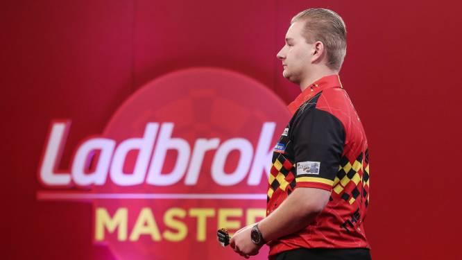Dimitri Van den Bergh sneuvelt meteen tegen Brit Woodhouse op UK Open darts, ook Kim Huybrechts en andere Belgen uitgeschakeld