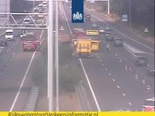 Ongeluk op A58 met vrachtwagen bij Best, weg weer open