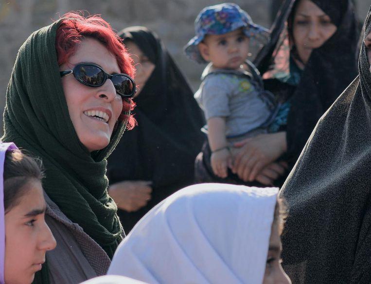 Marziyeh Rezaei in 3 Faces, een Iraanse roadmovie langs bergen, dalen en grotten Beeld