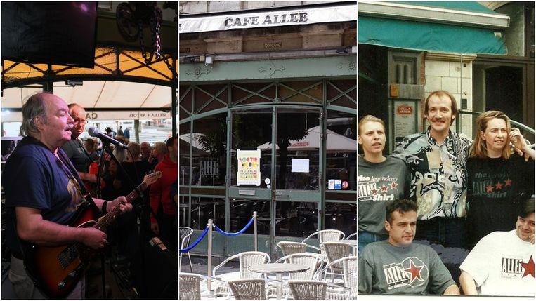 Café Allee in Leuven legt de boeken neer. Beeld Vertommen