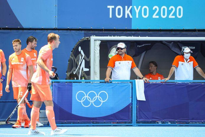 De hockeyers kennen een stroef begin van de Olympische Spelen.