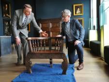 Kapiteinsstoel uit 1621 met stadswapen van Middelburg vertelt maritiem verhaal in vernieuwd muZEEum