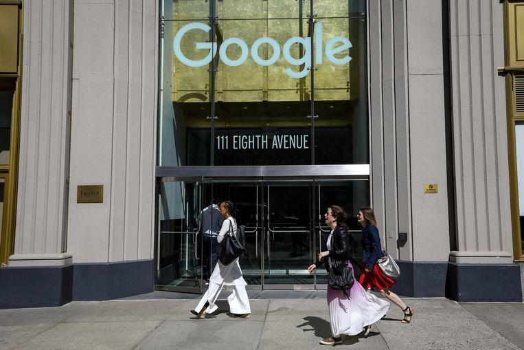 Het kantoor van Google in New York.