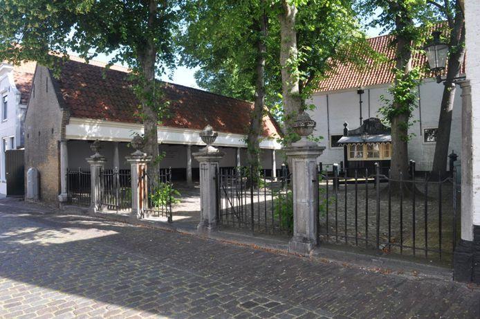 Het Sint Jacobshofje in Zierikzee