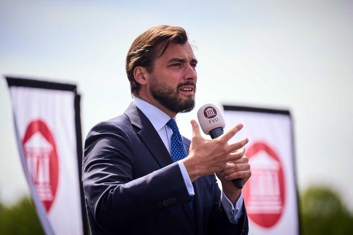 Forum-leider Thierry Baudet: 'Het verrast me niet: VVD en CDA grijpen gewoon iedere kans aan om met linkse partijen te regeren.'