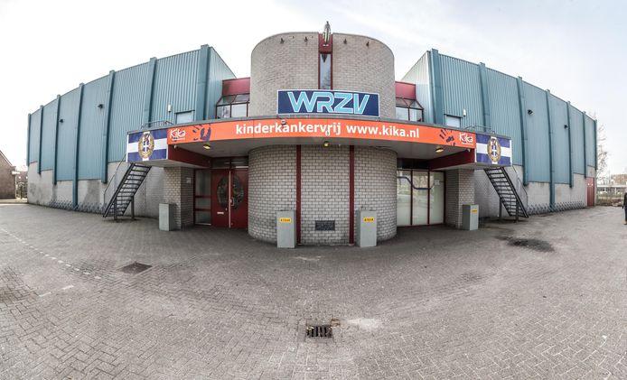De WRZV-hallen in Zwolle.