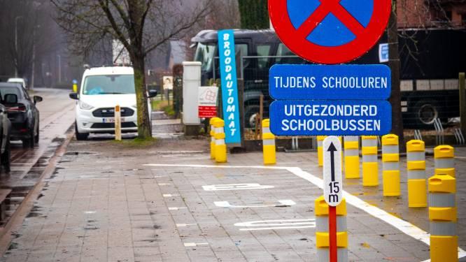 Heusden-Zolder schrapt gevaarlijke dwarsparkeervakken aan school De Springplank