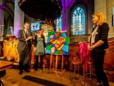 Lhbti-schilderij krijgt plek in het Dordtse stadskantoor