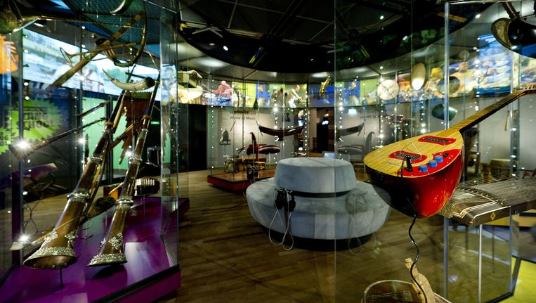 Interieur van het Tropenmuseum Beeld ANP XTRA