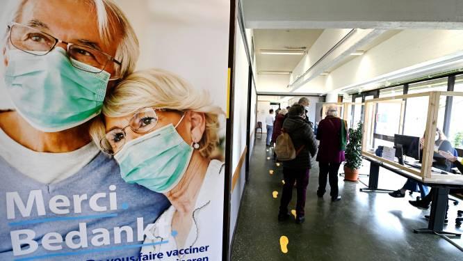 Extra vaccinatiepunten op komst in Brussel