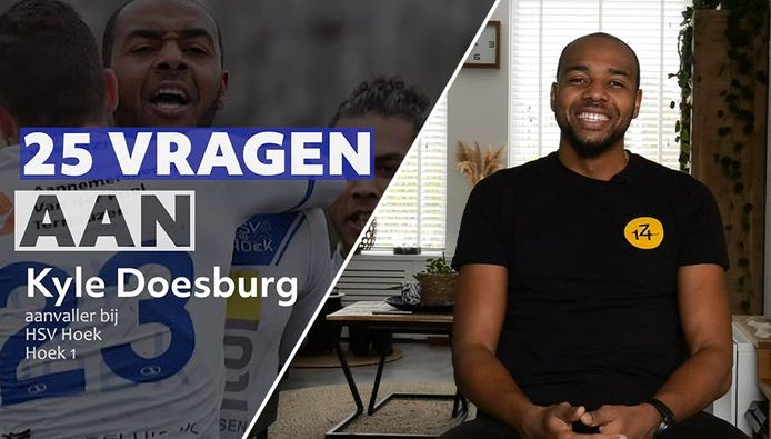 25 vragen aan: HSV Hoek-spits Kyle Doesburg
