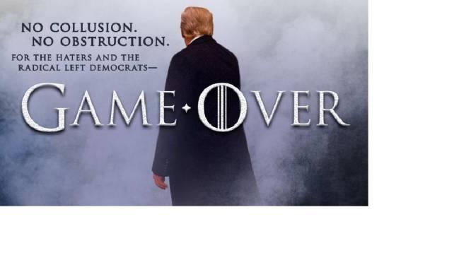 """""""Game Over"""": Trump exulte et détourne (encore) """"Game of Thrones"""""""