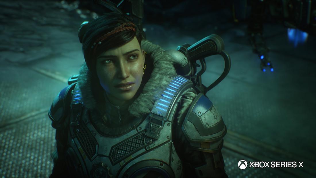 Microsofts 'Gears 5' kreeg een visuele laag vernis voor de Xbox Series X.