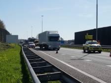Twee botsingen op snelweg A59 bij Vlijmen