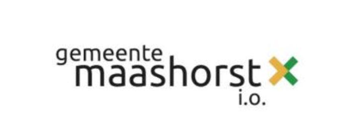 Het logo van de gemeente Maashorst i.o. Wat Gewoon Uden betreft mag die naam overboord.