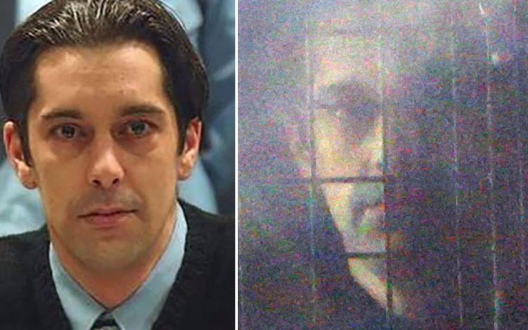 Michel Lelièvre ten tijde van het proces-Dutroux in 2004. Beeld AFP/Photo News