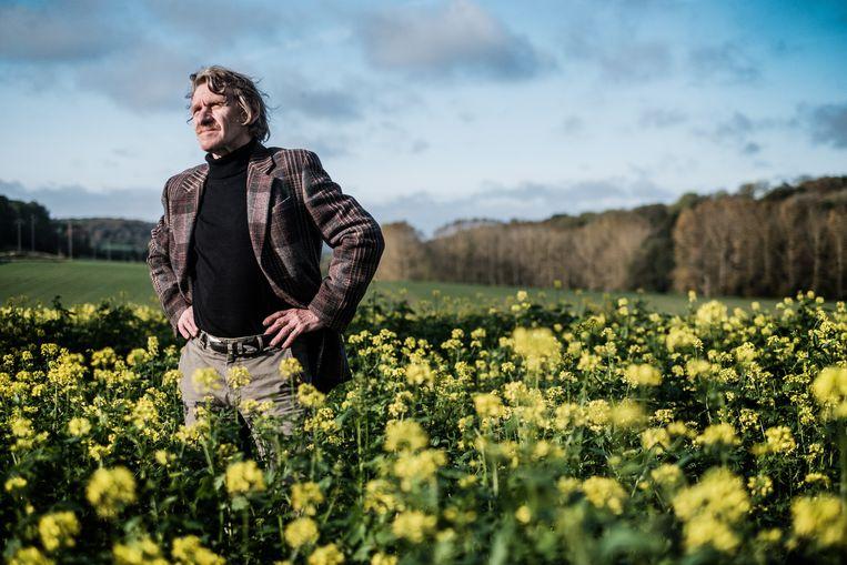 Alfred Bernard: 'Als er niet snel veel verbetert, zullen er steeds meer Vlaamse luchtvluchtelingen richting Waalse bossen trekken.' Beeld BOB VAN MOL
