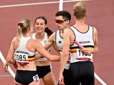 Le relais 4x400m mixte se hisse en finale avec un record de Belgique