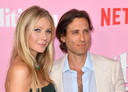 Gwyneth Paltrow met haar echtgenoot Brad Falchuk.