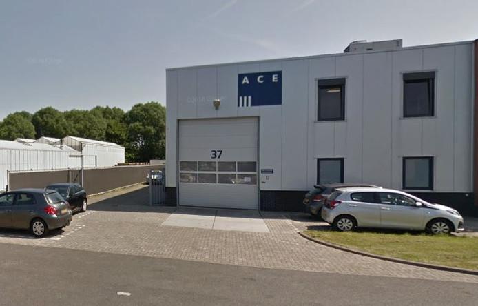 Het bedrijf Ace Pharmaceuticals in Zeewolde.