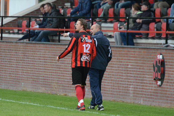 Wilfred Schoonderbeek, hier als trainer van SV Milsbeek.