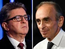 Éric Zemmour contre Jean-Luc Mélenchon, le duel des extrêmes qui agite la France