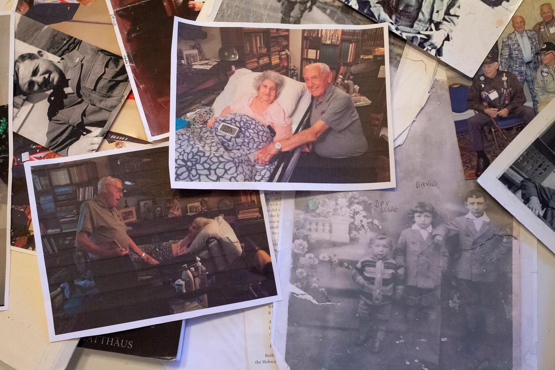 Pas na 72 jaar zagen de twee oud-geliefden uit Auschwitz elkaar eindelijk terug.