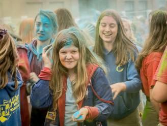 Colour Festival en erfgoedspel op Dag van de Jeugdbeweging