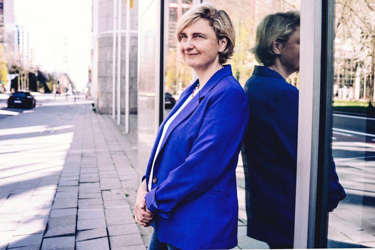 Vlaams vice-minister-president Hilde Crevits (CD&V). Beeld © Stefaan Temmerman