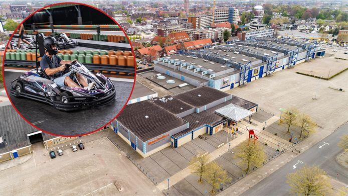 Het gaat gebeuren: racen met elektrische karts in de IJsselhallen in Zwolle.
