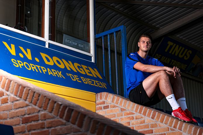 VV Dongen-aanvaller Roman Talboom.