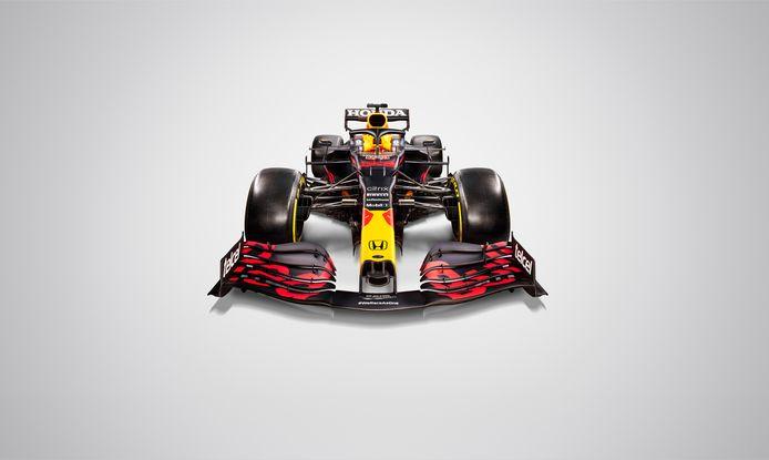 De nieuwe auto van Max Verstappen.