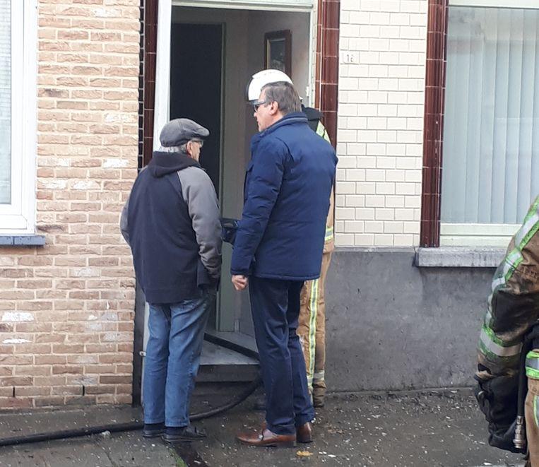 Burgemeester Guido De Padt bekommerde zich over de slachtoffers.