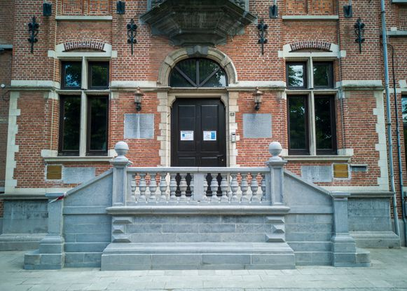 De trap van het gemeentehuis