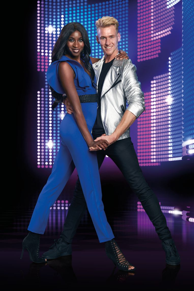 Dancing with the stars 2018 - Elodie Ouedraogo & Sander Bos