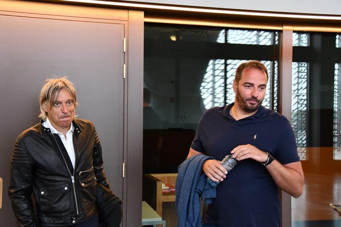 Stijn Stijnen (rechts) is trainer van Patro Eisden.