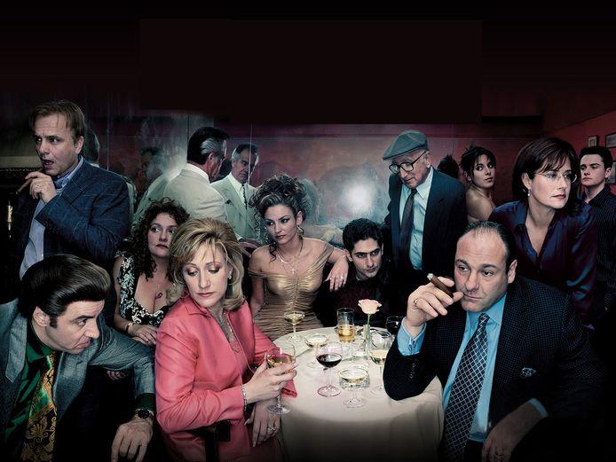 De Amerikaanse tvserie The Sopranos.
