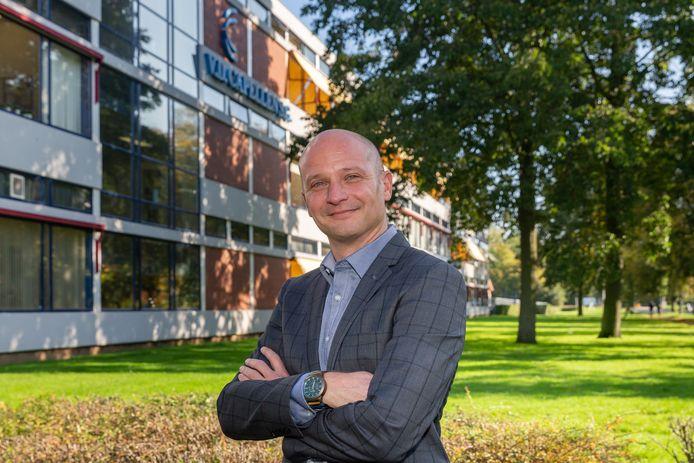 Directeur Tom Versteeg in oktober 2019 voor de Van der Capellen in Zwolle.