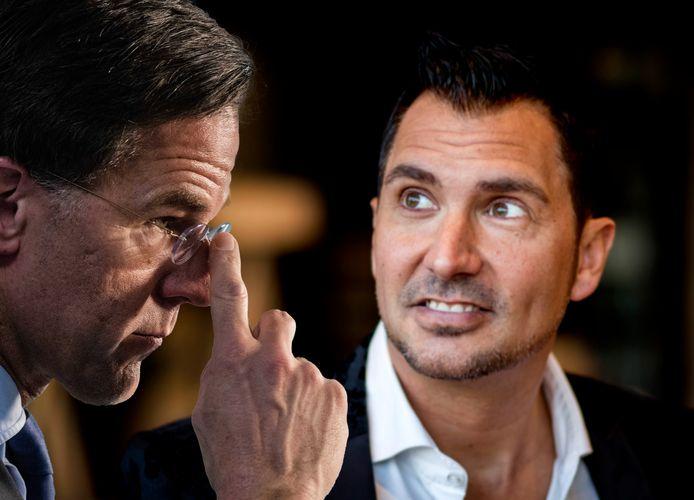 Guido Weijers en Mark rutte