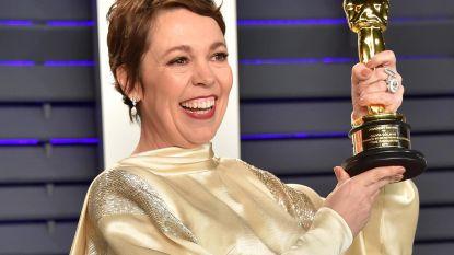 """Olivia Colman kan zich winst van Oscar niet herinneren: """"Ik was gewoon veel te dronken"""""""