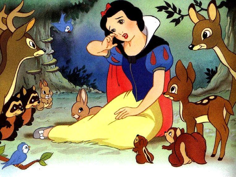 De allereerste film ooit die vergezeld werd van een soundtrack: 'Snow White and the Seven Dwarfs' uit 1937.  Beeld Disney
