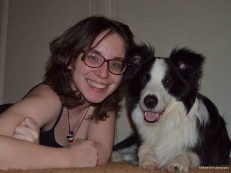 Haagse bordercollie Link in de race voor Mooiste hond van Nederland