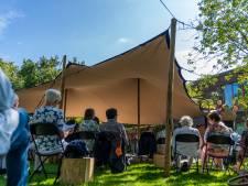 Tuin van Theater Koningshof is nu festivalterrein: Openlucht Bioscoop en Parklif/ve komen eraan