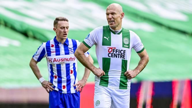 """Glunderende Robben maakt rentree na 6 maanden blessureleed: """"Was de moeilijkste revalidatie ooit"""""""
