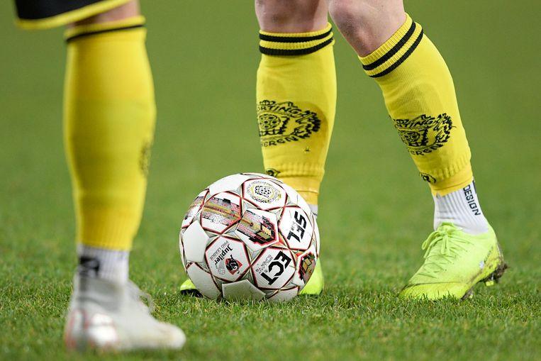 Wedstrijd Sporting Lokeren en KAA Gent. Beeld BELGA