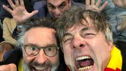 """Kamagurka en Martin Heylen, de twee bekendste KVO-fans, laaiend enthousiast: """"Verheyen en Van der Elst, dat gaat vonken geven!"""""""